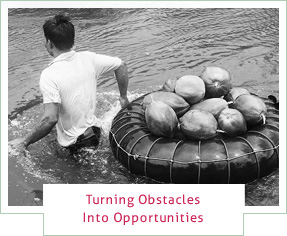 Turning Obstacles Into Opportunities